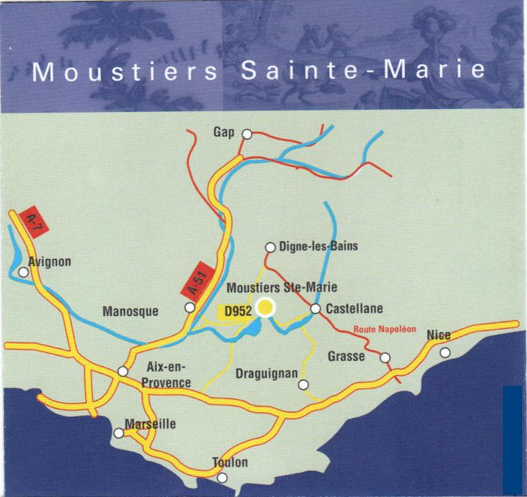 Moustiers sainte marie 24 7 in france - Office tourisme moustiers sainte marie ...