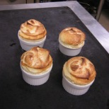 Lemon souffle-after