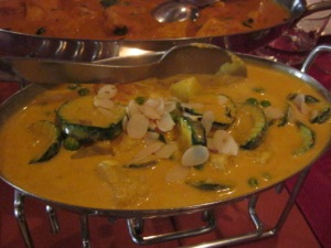 Vegetable korma