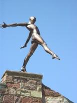 courtyard sculpture