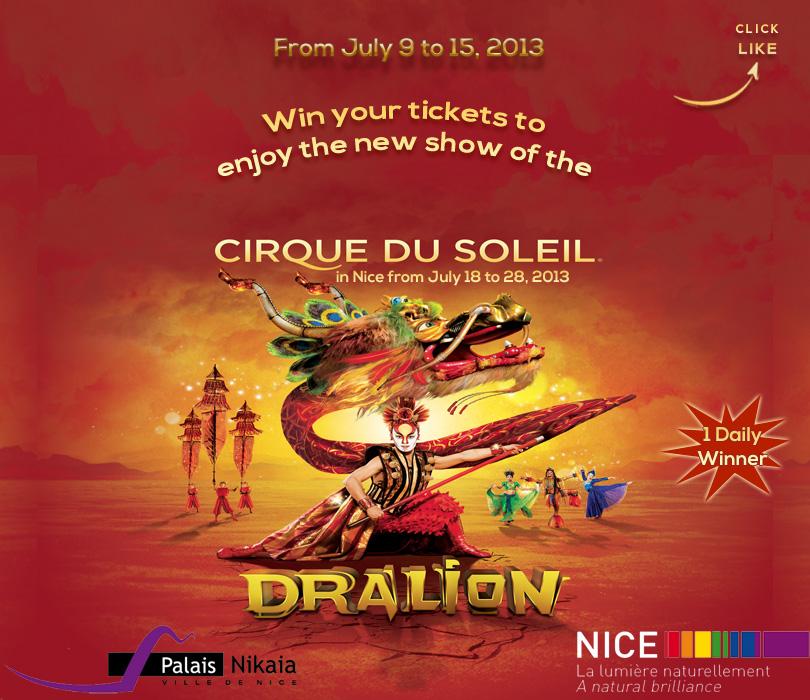 Cirque du soleil in nice 24 7 in france for Piscine du soleil nice