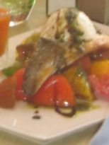 plat du jour sea bass