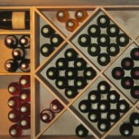 stacked wines