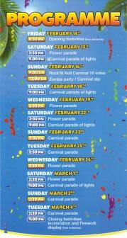 Carnaval program