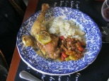 Chicken with lemon & garlic