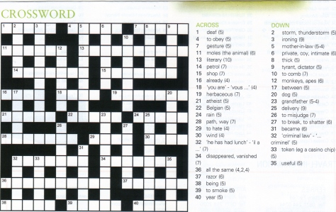 crossword 2-24-14