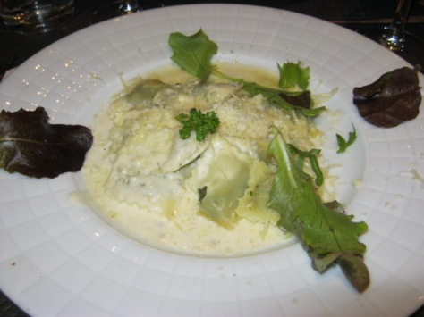 Ravioli aux fromages