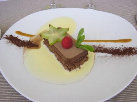 Croquant au chocolat et feuillantine