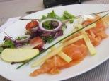 Gravlox de saumon