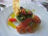 Salade de homard a l'orange