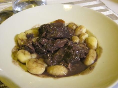 Beef & gnocchi