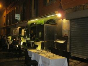 street side tables