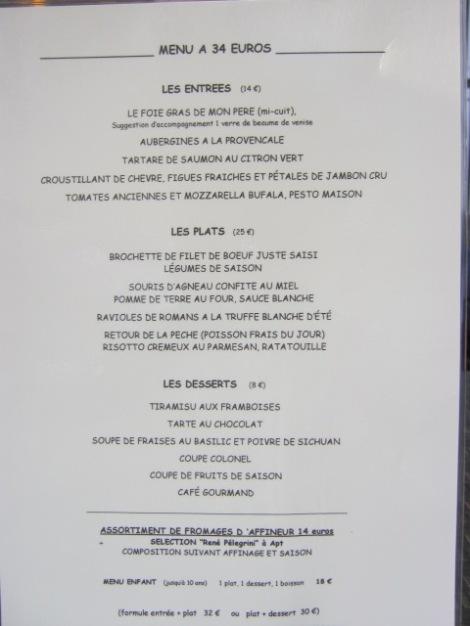 Aux Fines Herbes restaurant