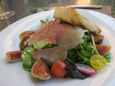 ham and fig salade