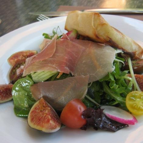 ham and fig salade