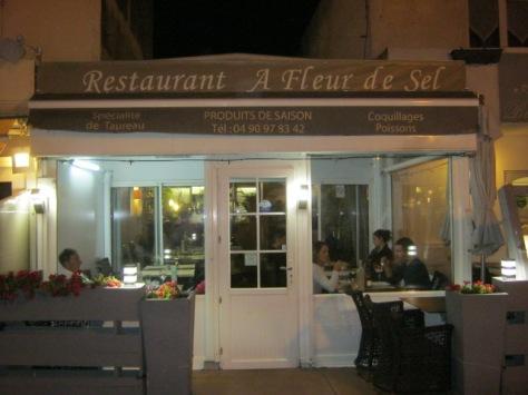Fleur de Sel restaurant